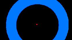 Ilusi optik ini disebut efek Troxler. Terjadi ketika otak menghiraukan stimulus di luar titik fokus penglihatan sehingga seakan-akan gambar menghilang.