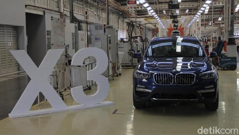 Pabrik BMW X3 di Sunter, Jakarta Foto: Ruly Kurniawan