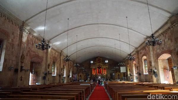 Gereja ini selesai dibangun pada tahun 1797 dengan bentuk bangunannya yang megah dan kaya akan relief menawan di masanya (Syanti/detikTravel)