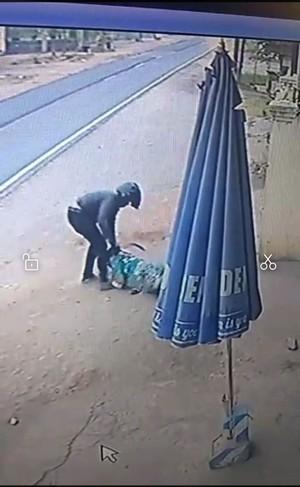 Aksi Jambret Sadis Diduga di Malang Terekam CCTV
