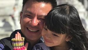 So Sweet! Hangatnya Kebersamaan Putri Denada dan sang Ayah