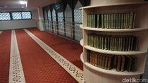 Foto: Masjid Modern di Orchard Road Singapura