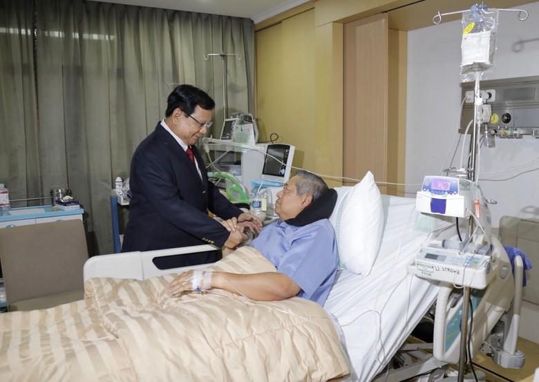 Prabowo Ingatkan SBY soal Kesehatan: Bapak Bukan Danyon Lagi