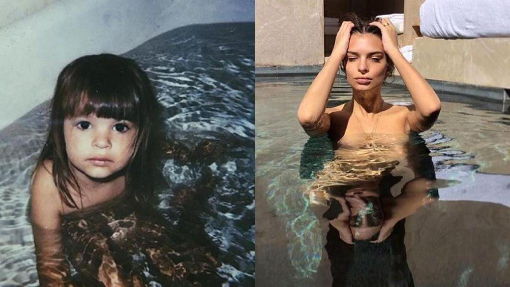 Transformasi Emily Ratajkowski, Dari Imut sampai Seksi Banget!