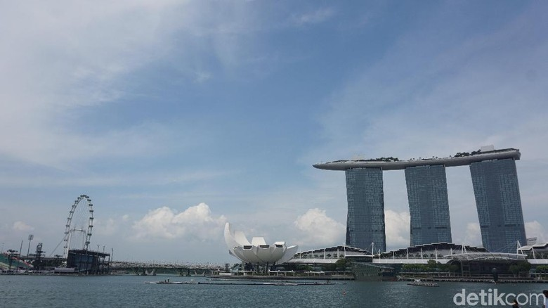 Marina Bay Sands Singapura (Shinta/detikTravel)