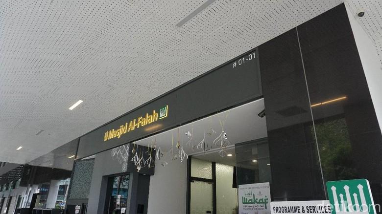 Masjd Al Falaah di Singapura (Shinta/detikTravel)