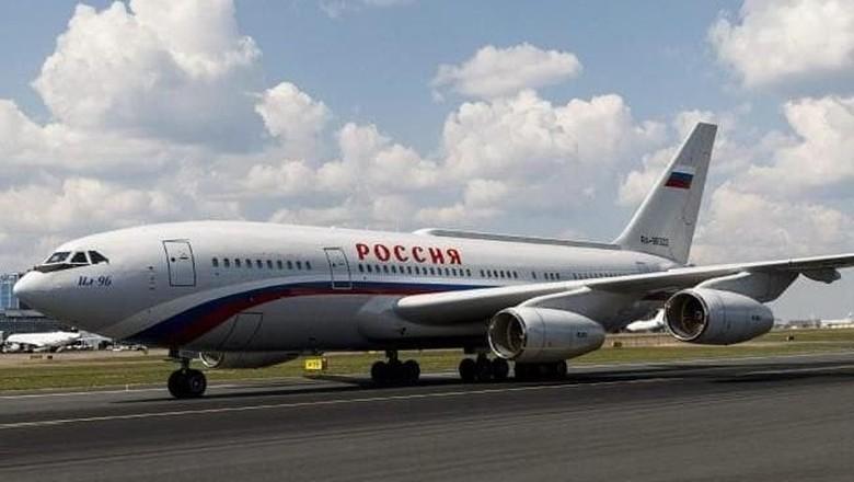 Vlad Force One, Pesawat Kepresidenan Vladimir Putin (AFP)