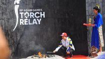 Video: Dari Api Abadi Mrapen, Obor Asian Games Mulai Diarak