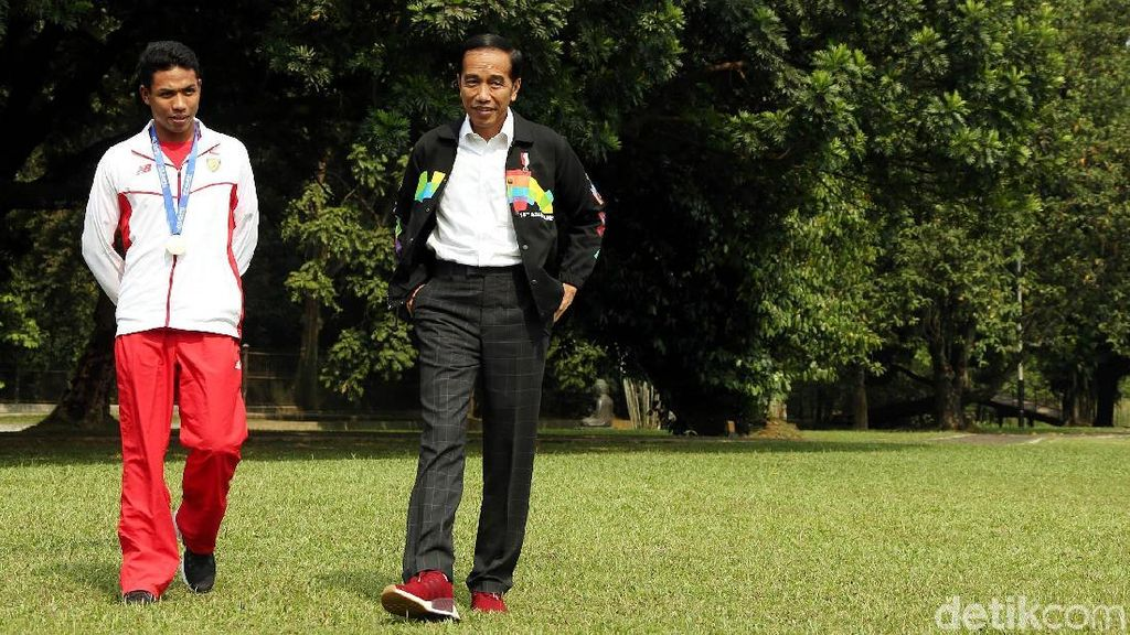 Ini Pesan Presiden Jokowi untuk Lalu M Zohri