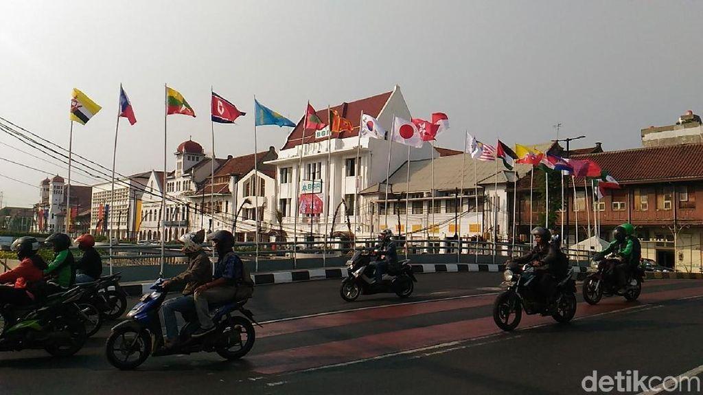 PKB Sindir Tiang Bambu, Dishut DKI: Tiang Besi buat Umbul-umbul