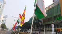 Inasgoc Tak Masalah Bendera Negara Asian Games Diikat Bambu