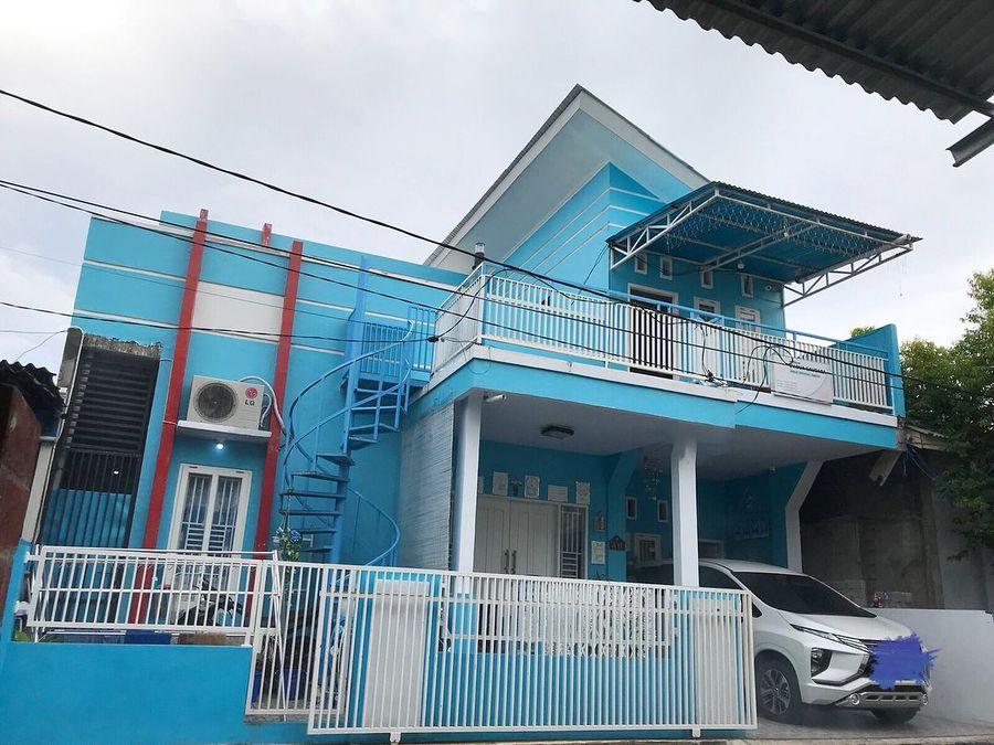 Super Cute Ada Rumah Unik Serba Doraemon Di Sulawesi Isinya Bikin Bengong Foto 10