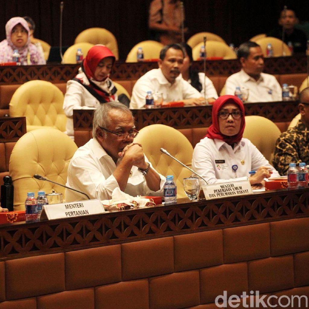 Menteri PUPR dan DPR Bahas RUU Sumber Daya Air