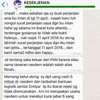 Sinetron Politik Lucky Hakim: Dipecat PAN, Ditransfer NasDem