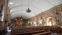 Karena nilai historis yang dimilikinya, Gereja Miagao pun diakui sebagai Warisan Dunia UNESCO pada tahun 1993 (Syanti/detikTravel)