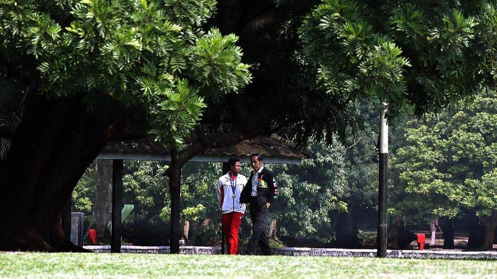 Agar Muncul Superstar Seperti Lalu M Zohri, Jokowi Bentuk Badan Khusus