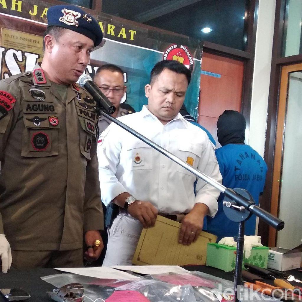 Polisi Bongkar Sindikat Pembobol Tower Pemancar Sinyal di Jabar