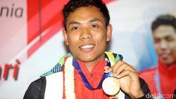 Jokowi Terima Sprinter Lalu M Zohri di Istana Bogor Siang ini