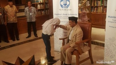 Ini Pesan BJ Habibie untuk Anak-anak Indonesia