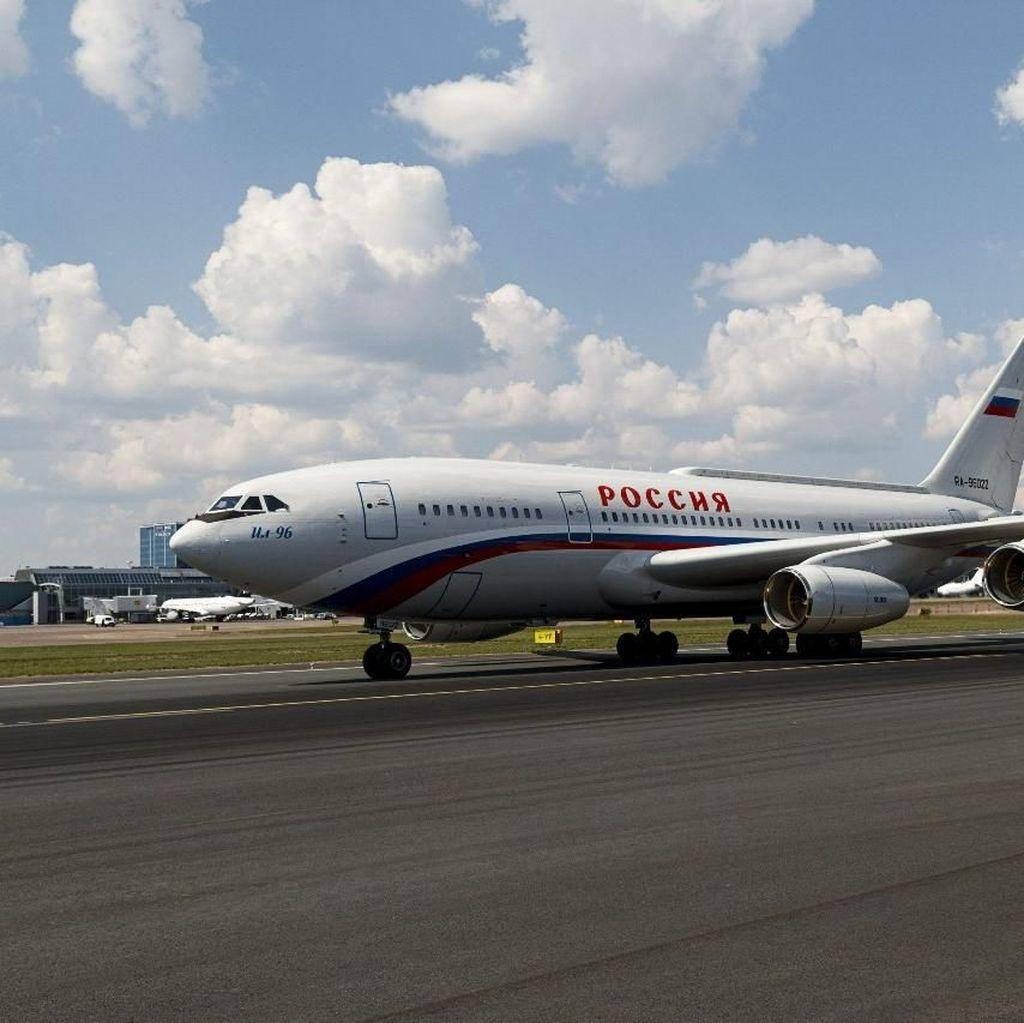 Mengintip Kemewahan di Balik Kecanggihan Pesawat Putin