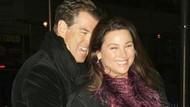 Ungkapan Cinta Pierce Brosnan untuk Istri di Ultah Pernikahan
