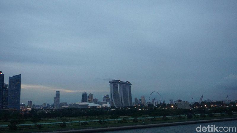Traveler bisa mulai naik dari Marina Bay Cruise Centre, Singapura (Shinta/detikTravel)