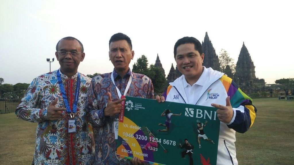 BNI Launching Virtual Account Debit Combo Card Edisi Asian Games