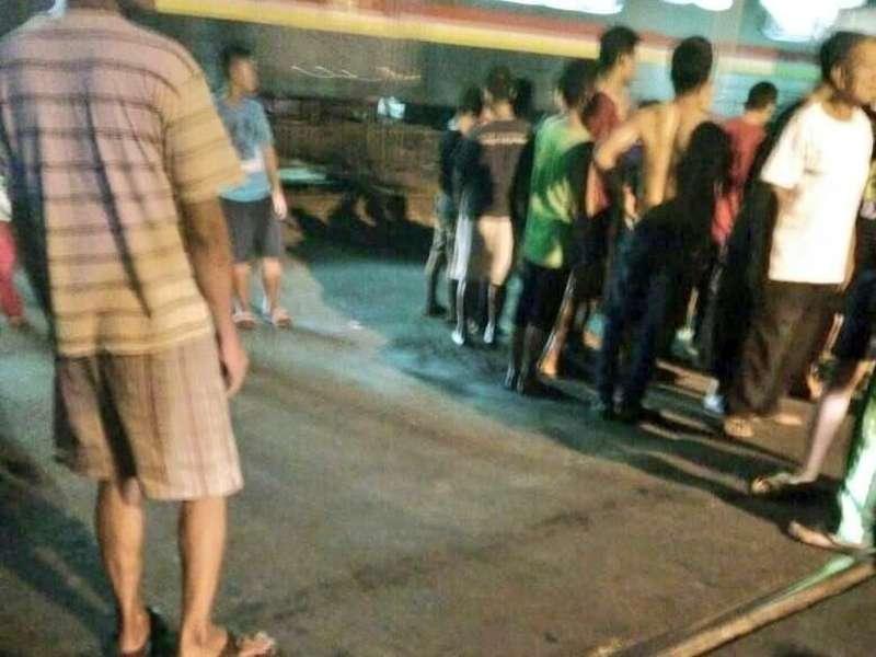 Kecelakaan di Perlintasan KA Tambora Jakbar, 1 Orang Tewas