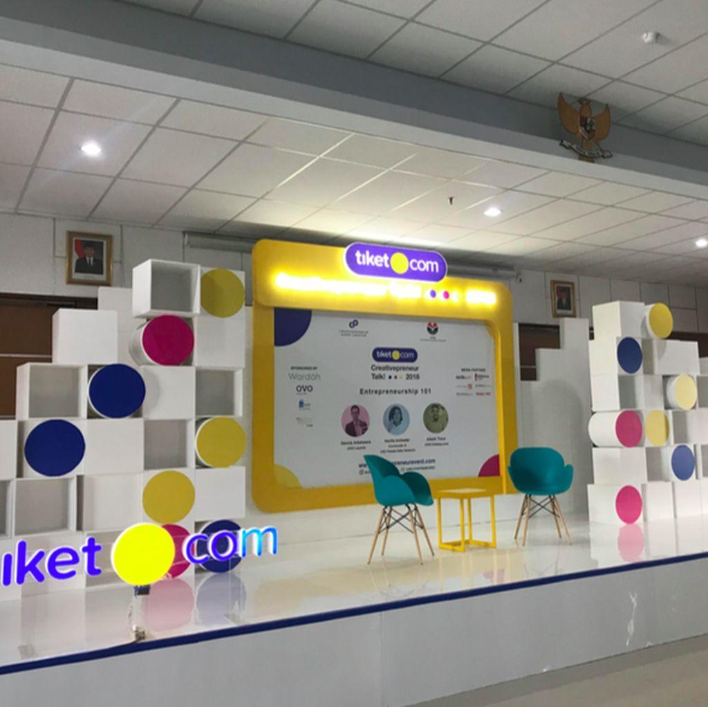 Asyik! Creativepreneur Talk 2018 Keliling 6 Kampus di 3 Kota