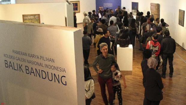 40 Karya Koleksi Galeri Nasional Indonesia 'Pulang Kampung' ke Bandung