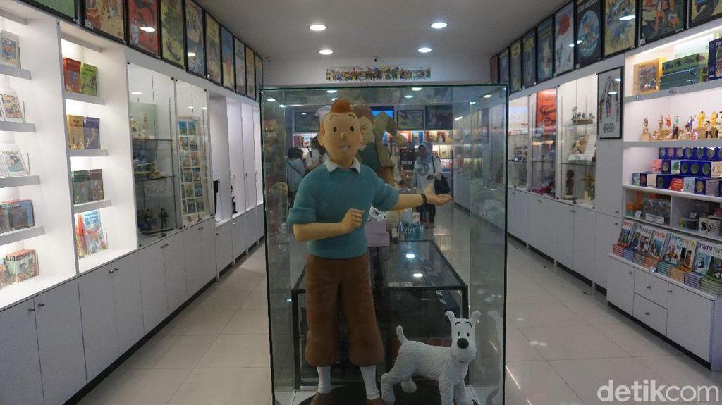 Surga Untuk Pecinta Tokoh Komik Tintin di Singapura