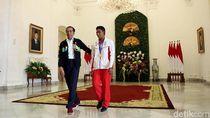 Jokowi Minta Zohri Giat Berlatih dan Unjuk Gigi di Asian Games