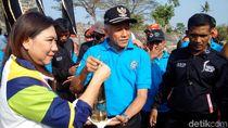 Api dari India untuk Obor Asian Games Mampir di Candi Ratu Boko