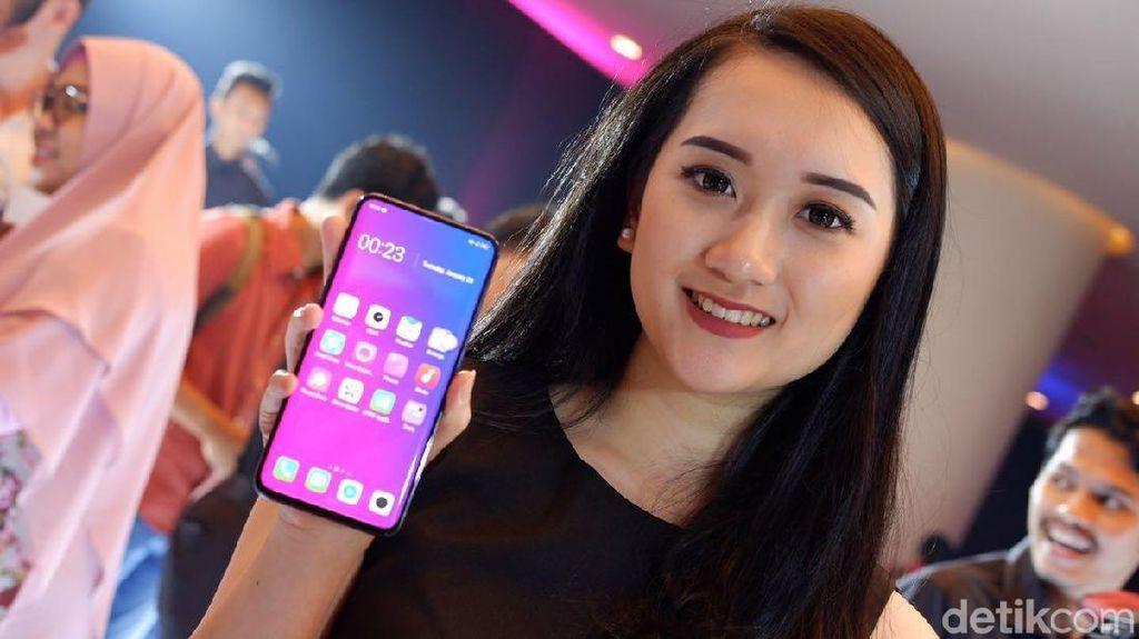 Potret Peluncuran Ponsel Termahal Oppo di Jakarta