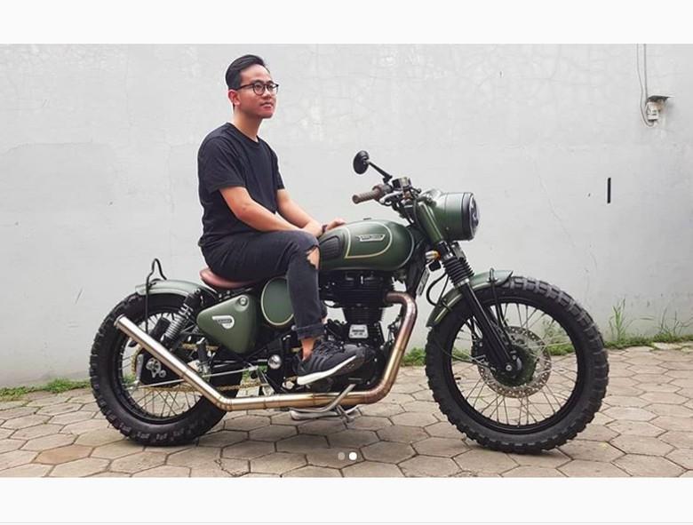 Motor Modifikasi Gibran Foto: Instagram/Alitt Susanto