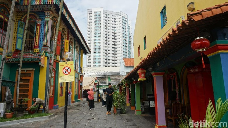 Foto: Little India di Singapura (Shinta/detikTravel)