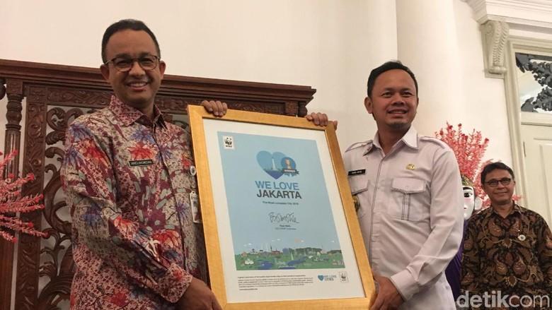 Pemprov DKI Terima Penghargaan Kota Paling Dicintai Tahun 2018