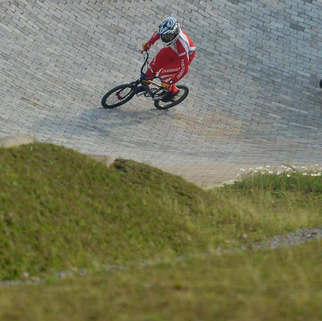 Venue BMX Asian Games Belum Sempurna