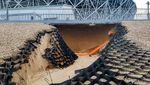 Penampakan Longsor di Stadion Megah Volgograd Usai Piala Dunia