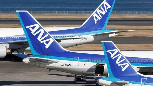 Pihak AirlineRatings.com mengungkapkan maskapai asal Jepang, All Nippon Airways, bersaing ketat dengan Air New Zealand dan Singapore Airlines untuk memperebutkan posisi pertama. (Toru Hanai/Reuters)