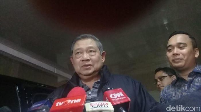 Foto: Ketua Umum Partai Demokrat Susilo Bambang Yudhoyono (Sahaya Anisa/detikcom)