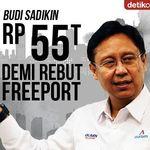 Saksikan Blak-blakan soal Perebutan 51% Saham Freeport Pukul 15.00 WIB