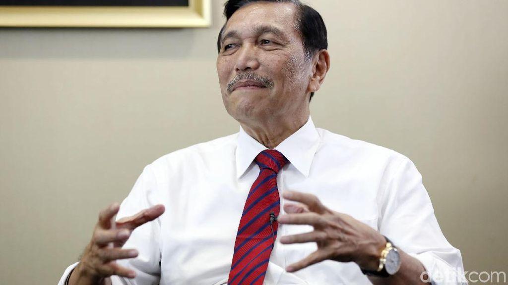 Jawaban Luhut soal Tudingan Menteri Segala Urusan di Kabinet Jokowi-JK