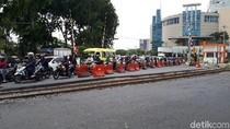 Kemacetan di Perlintasan Kereta Api Wonokromo Segera Teratasi