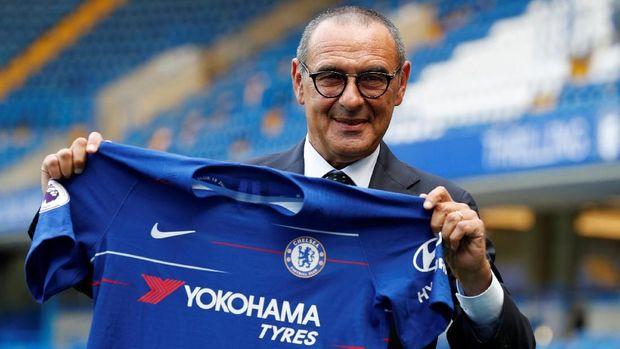Maurizio Sarri didatangkan Roman Abramovich untuk membawa perubahan besar di Chelsea. (