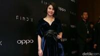 Vanesha Prescilla saat menghadiri peluncuran Oppo Find X di Ritz Carlton, SCBD, Jakarta, Rabu, (19/7) malam. Foto: Pool/Ismail/detikHOT