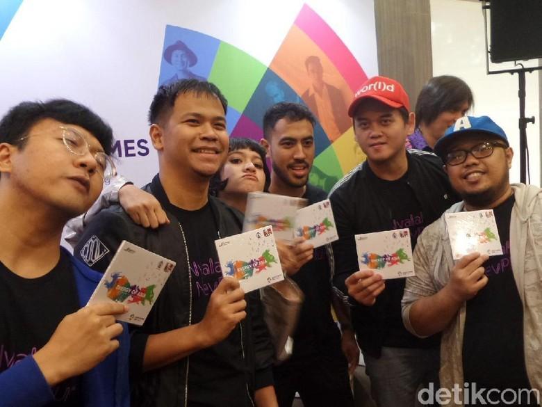 Bersama Ariel NOAH dan Dea, NEV+ Jahit Sportivitas untuk Asian Games 2018