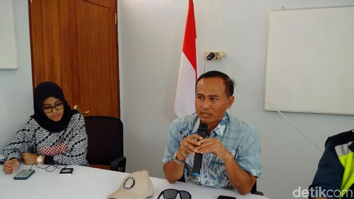 Juru bicara proyek NYIA, Agus Pandu Purnama.Foto: Ristu Hanafi/detikcom