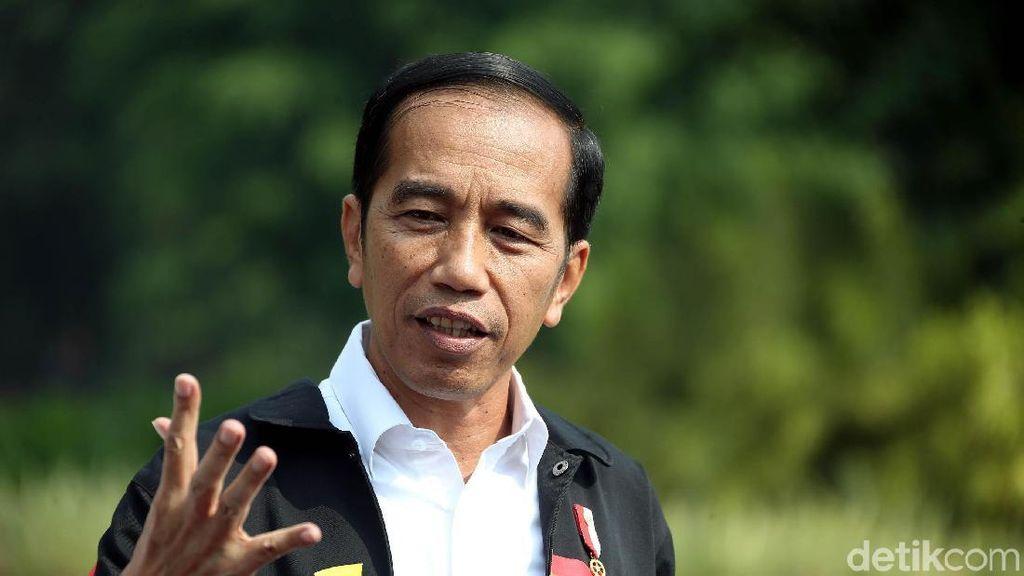 Saat Jokowi Ikut Bicara soal Selebrasi Buka Baju Jojo