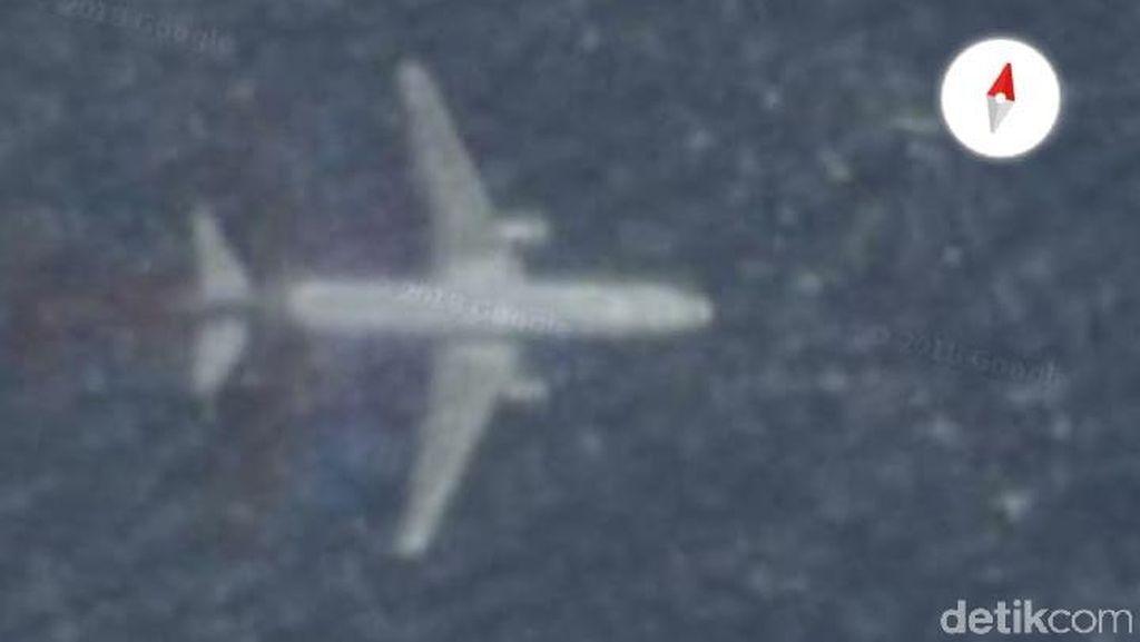 Ada Pesawat Tenggelam Misterius di Google Maps, Ini Kata AirNav